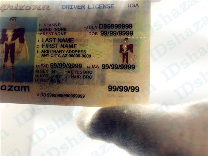 Arizona fake ID 4