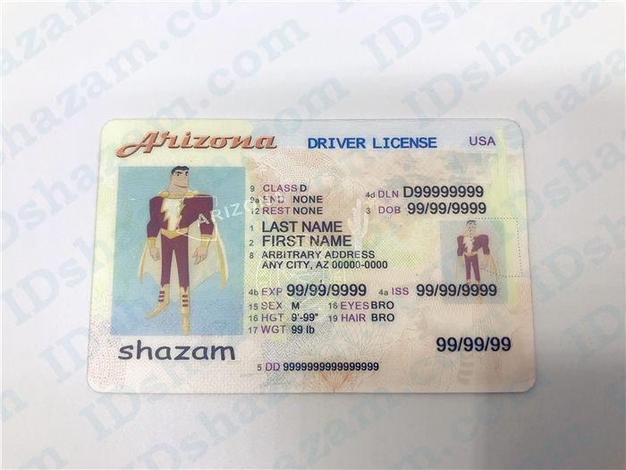 Arizona fake ID 1