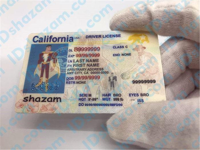 New California fake id 3