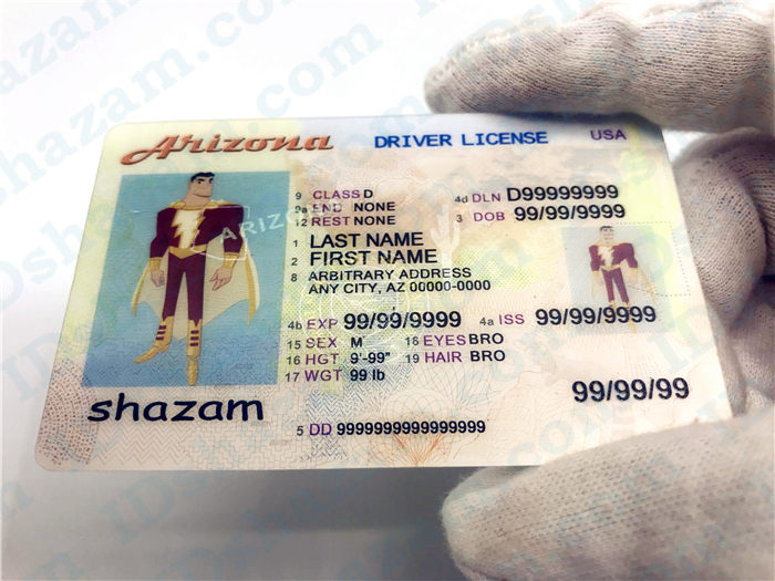 Arizona fake ID 3